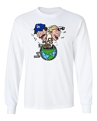 Planet Bob & Tom Long Sleeve Shirt
